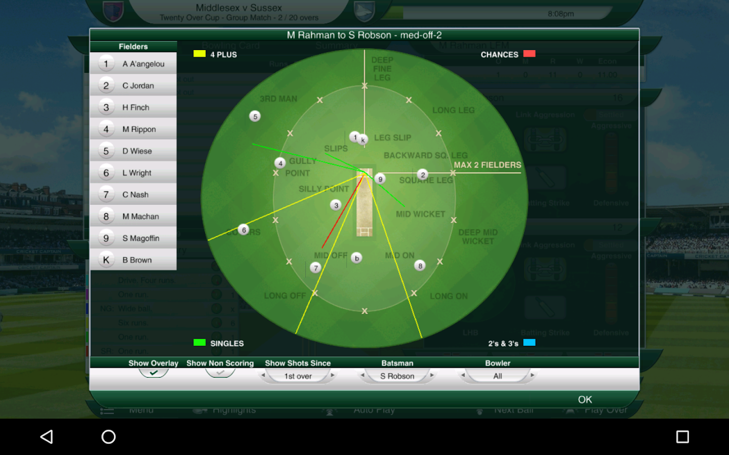 Cricket Captain 2016 Screenshot 19