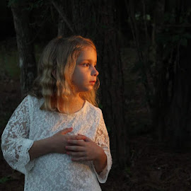 Sophia in the Setting Sun by Sarah Douglas - Babies & Children Children Candids
