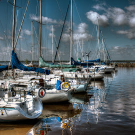 Aylmer Marina by Marc Parent - Transportation Boats ( sailing, boats, marina, sailboat, marina bay, river )