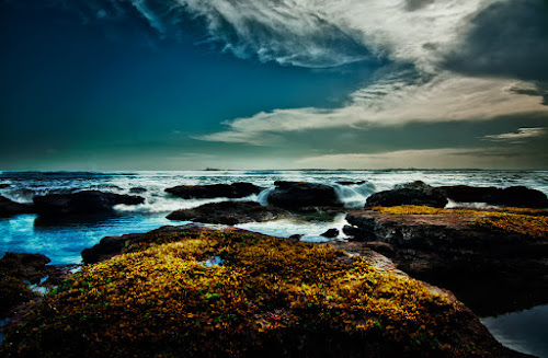 Kedungu beach by Oka Parmana - Landscapes Waterscapes