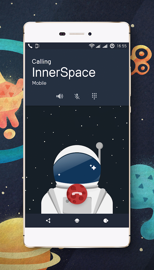 Space cm13 cm12 theme engine Screenshot 2