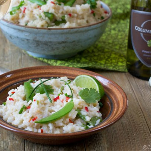 Asian Oven Risotto