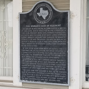 On January 18, 1895, Mrs. Hal W. Greer hosted a meeting at her home which resulted in the formation of this club. Present were Mrs. Greer's friends Mrs. E. C. Weiss, Mrs. T. A. Lamb, Miss Mary Lamb, ...