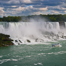 Niagara Falls by Mike Vaughn - Landscapes Travel ( american falls, maid of the mist, canada, niagara falls, waterfall )