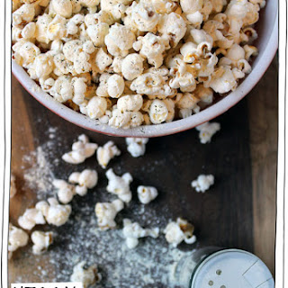 Vegan Sour Cream & Onion Popcorn