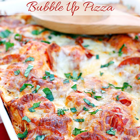 Pepperoni Bubble Up Pizza