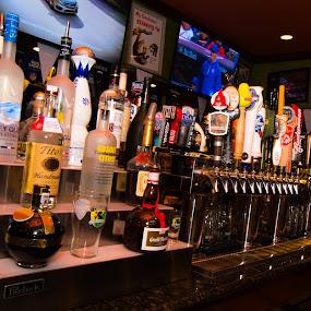 bar by John Brock - Food & Drink Alcohol & Drinks ( beer, alcohol, vodka, restaurant, bar )