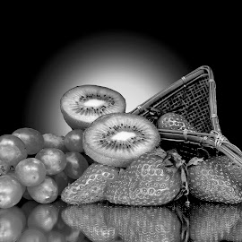 Fruits  by Asif Bora - Black & White Objects & Still Life