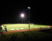 Football pitch & running track lighting