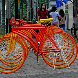 parkir by Noe Groho Abksn - City,  Street & Park  Street Scenes