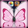 App ButterFly Zipper Lock Screen apk for kindle fire