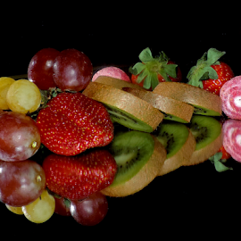 fruits with candy by LADOCKi Elvira - Food & Drink Fruits & Vegetables ( grape, fruits )