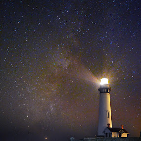Pigeon Point Light station   by Dustin Penman - Landscapes Starscapes