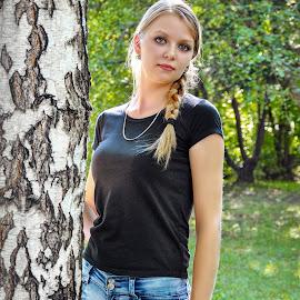 Nika by Sergey Kuznetsov - People Portraits of Women ( woman, beauty, young, blonde, summer )