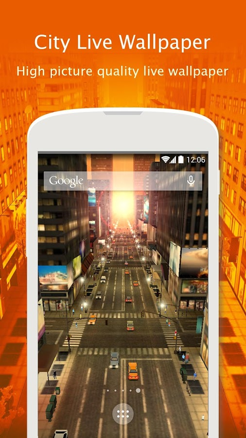 City Live Wallpaper Screenshot 8