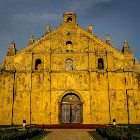 paoay church by Diofel Dagandan - News & Events World Events