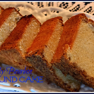 Kentucky Bourbon Pound Cake!