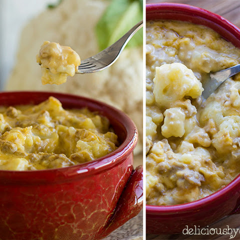 Cauliflower No-mac And Cheese {gluten-free!}