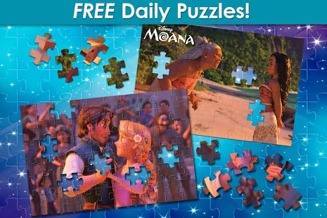 Disney Jigsaw Puzzle! Screenshot