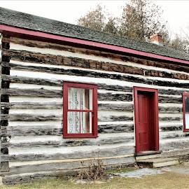 Olden Days  by Linda    L Tatler - Buildings & Architecture Public & Historical