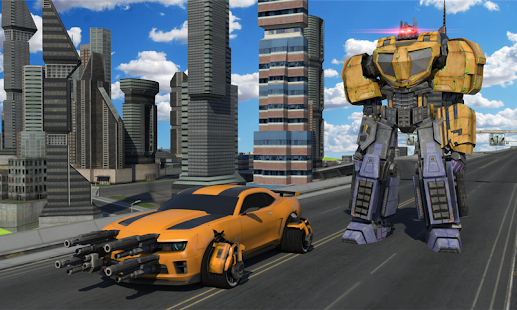Download Futuristic Robot Battle APK on PC
