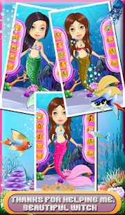 Ocean Mermaid Salon & dressup - screenshot