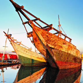 Phinisi by Mahdy Muchammad - Transportation Boats