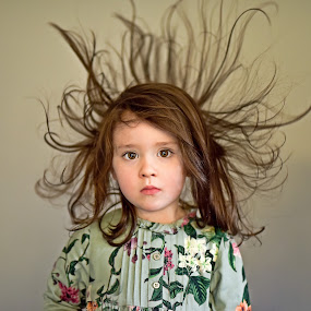 Bad Hair Day :) by Kaspars Sarovarcenko - Babies & Children Child Portraits ( children portraits, limerick photographer, baby photography, http://blackdiamondphotography.ie/, bad hair day )