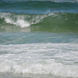 Great Waves by Kayla House - Landscapes Beaches ( calm, water, beaches, vacation, great, florida, calming, waves, summer, ocean, beach, relaxing )