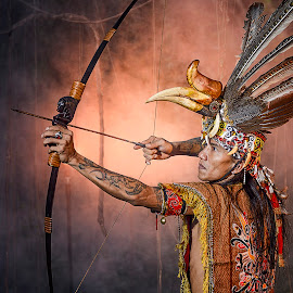 Archer Dayak by Doeh Namaku - People Professional People