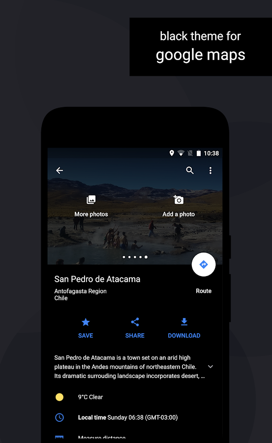 Swift Black Substratum Theme Screenshot 2