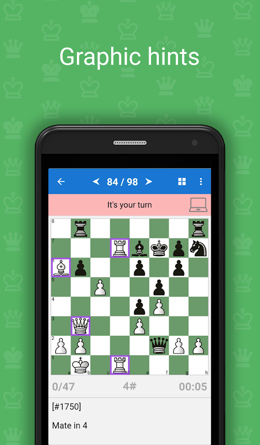 Mate in 3-4 (Chess Puzzles) Screenshot 1