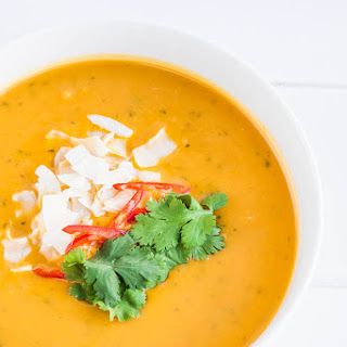 Pumpkin Soup Coconut Milk Ginger Recipes