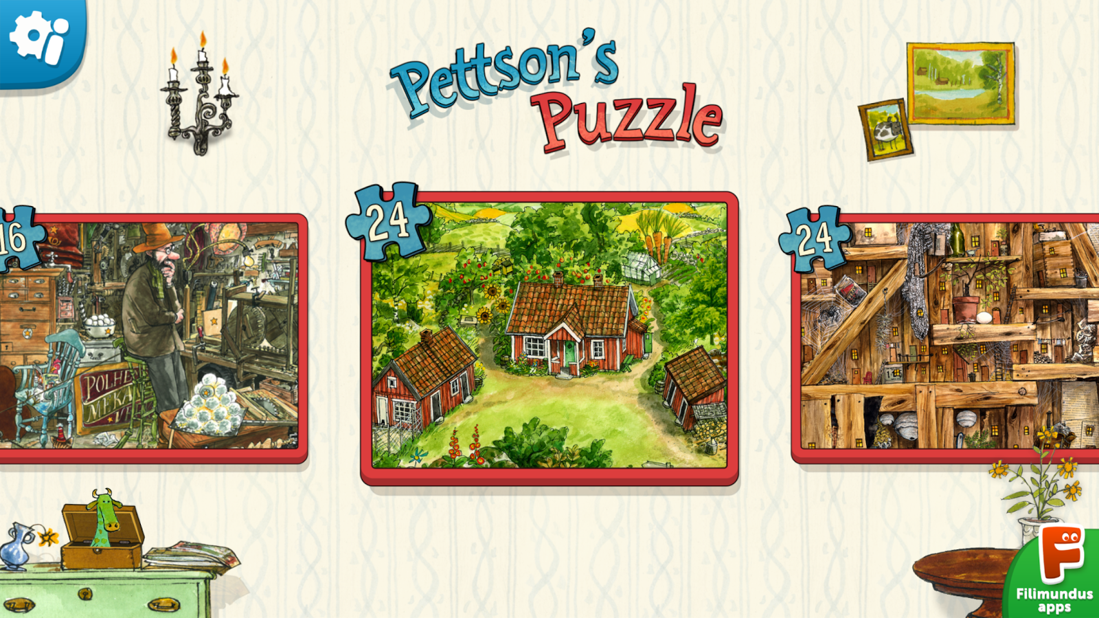 Pettson's Jigsaw Puzzle Screenshot