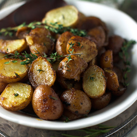 Balsamic Honey Roasted Potatoes