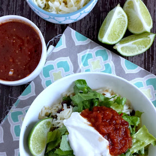 Make-Your-Own Chipotle Barbacoa Bowl