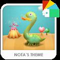 App Dinosaur Xperia Theme APK for Kindle