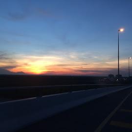 Sunset  by Sivasriganeshwaran Siva - Instagram & Mobile iPhone ( late evening, sunset, iphone, photo )