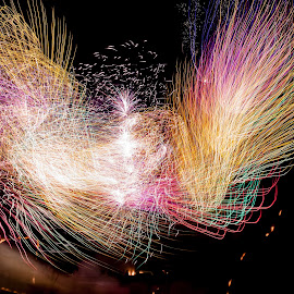 The grand finale by Bill Curran - Abstract Fire & Fireworks ( #nightphotography, #nightshot, #longexposure, #fireworks, #colorful )