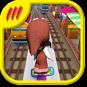 Download Subway Masha Run APK to PC