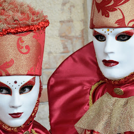 Venice 2016 by Bruno Brunetti - People Musicians & Entertainers ( carnival, masks, venice, people, italy )