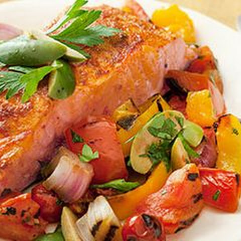 Smoky Spanish Salmon