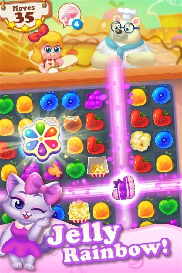 Tasty Treats - A Match 3 Puzzle Game Screenshot 1