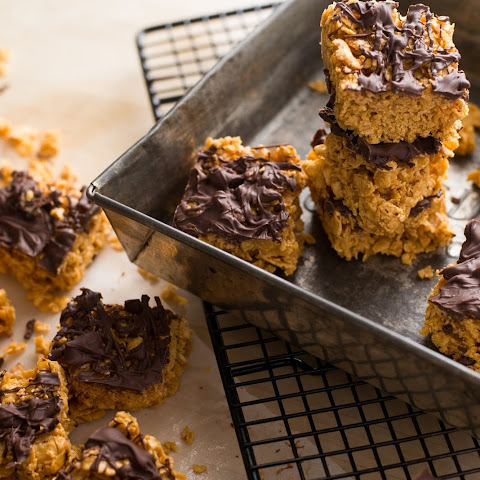 Cornflake and Peanut Butter Squares