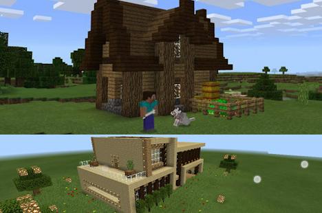 Gebäude Haus Minecraft Karten Android Apps Download - Minecraft hauser installieren