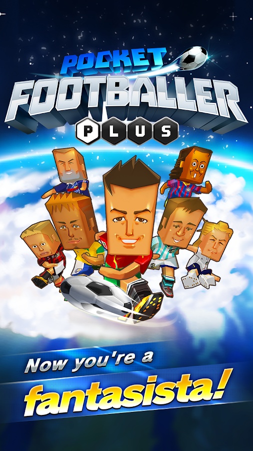 POCKET FOOTBALLER PLUS Screenshot 1
