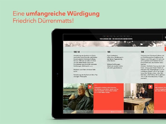 android Friedrich Dürrenmatt Screenshot 7