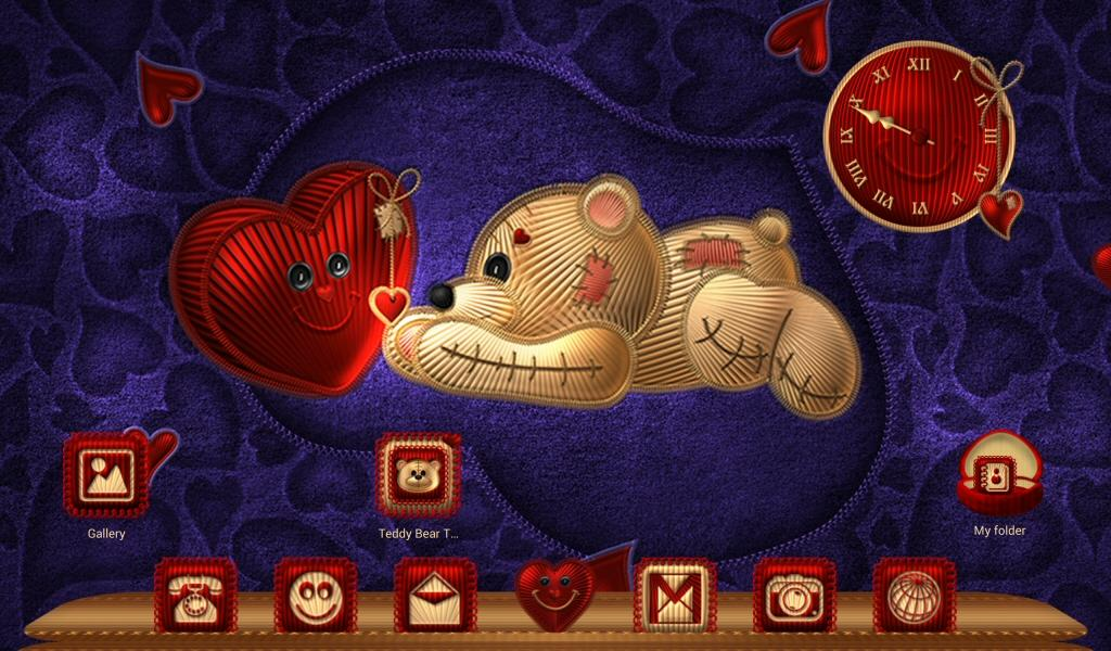 TSF NEXT TEDDY BEAR THEME Screenshot 8
