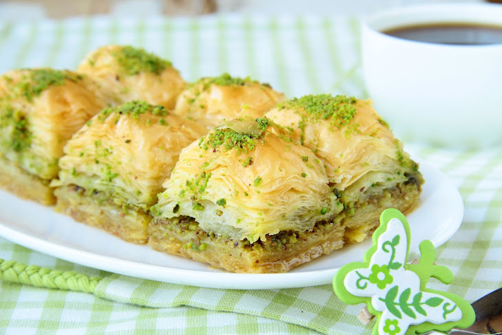 Pistachio Baklava Recipe | Yummly