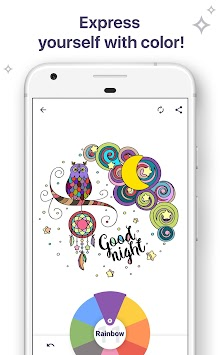 Coloring Book For Me & Mandala APK screenshot thumbnail 7